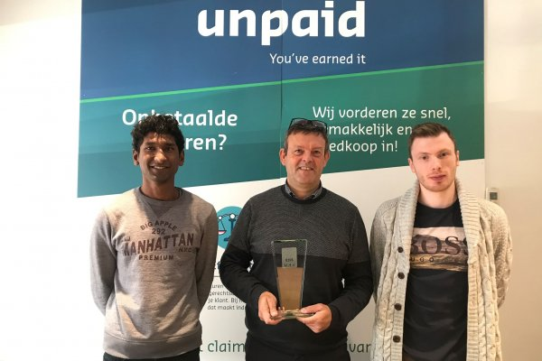 Unpaid remporte le Credit Management Innovation Award