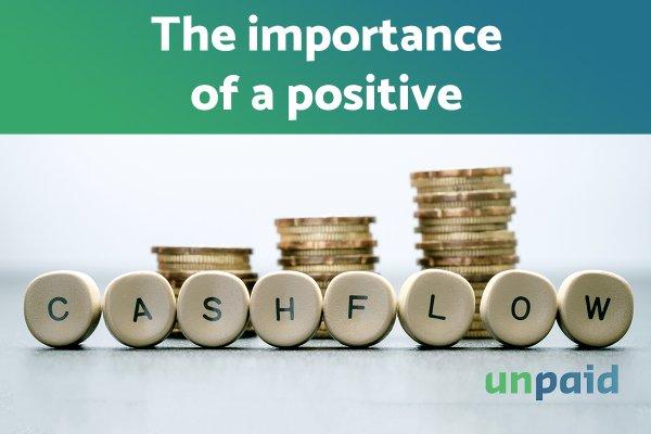 The importance of a positive cash flow