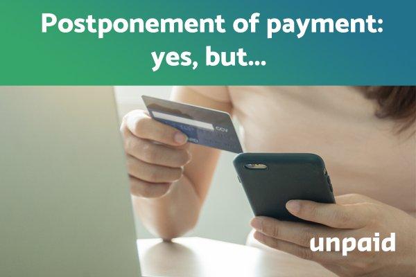 Postponement of payment