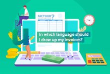 In which language should I draw up my invoices?