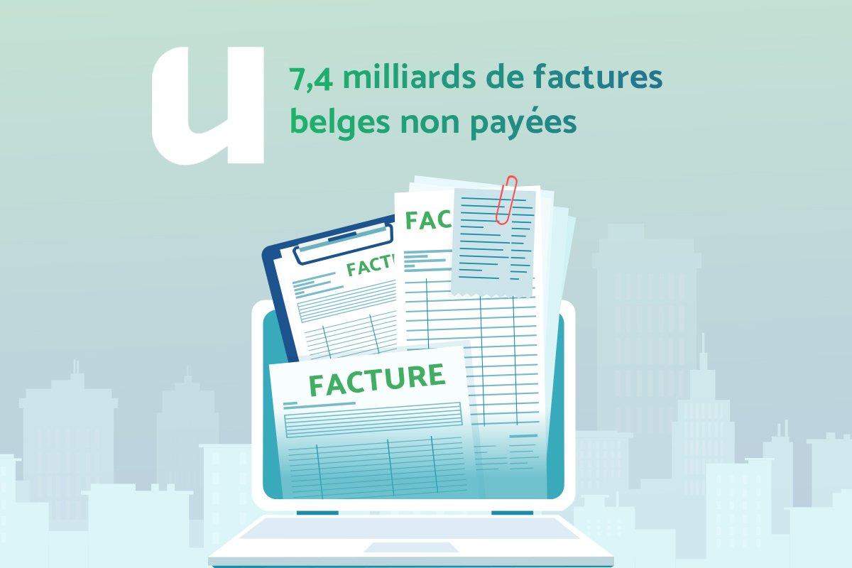 7,4 milliards de factures belges non payées