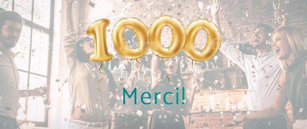 1000 merci blog