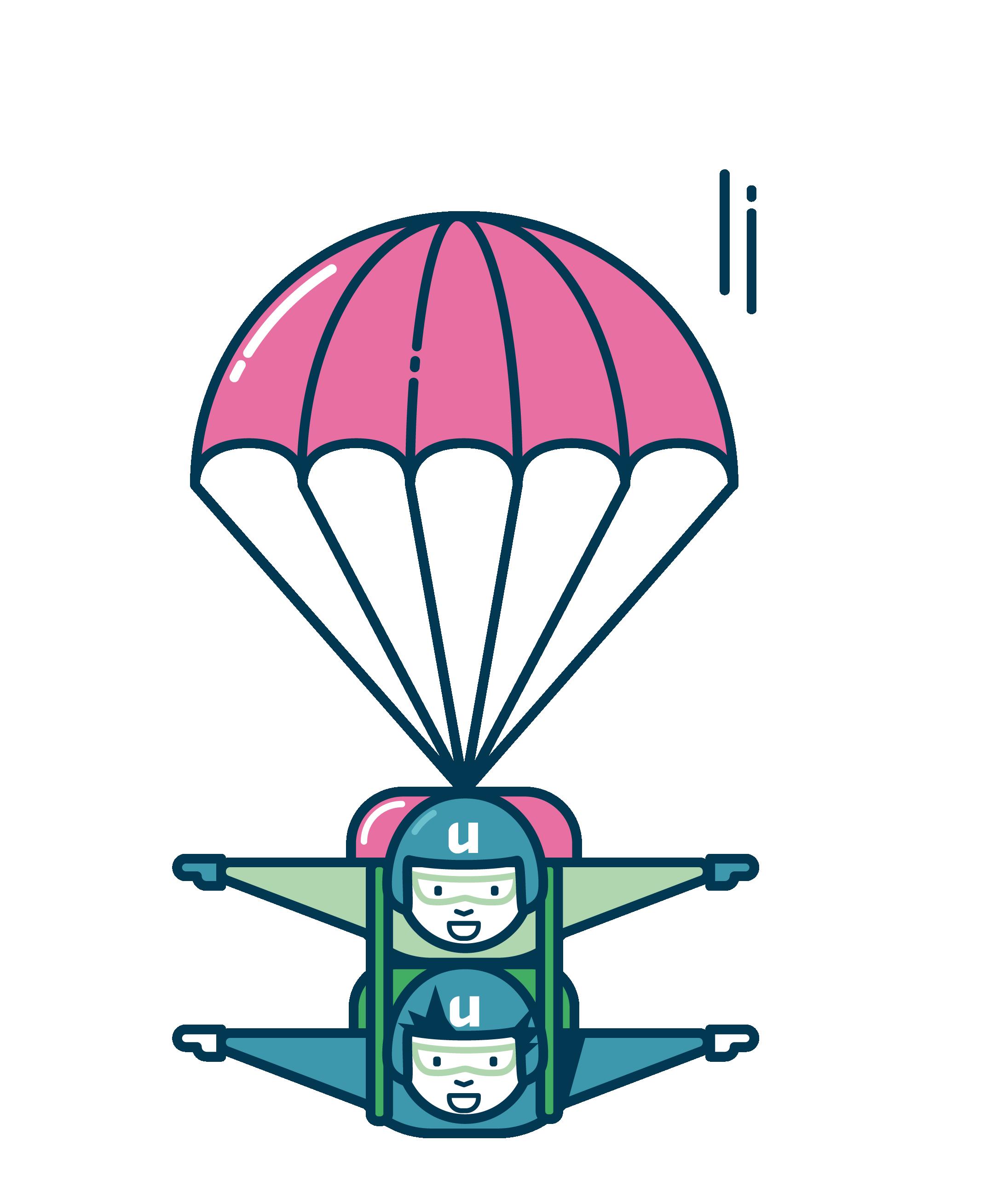 Parachutespringers
